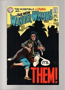 WONDER WOMAN # 185   ( 1969 )   I-CHING!  DC COMICS   SHARP COPY!