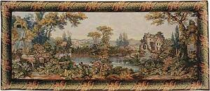Mill by the Lake Italian Tapestry Wall Hanging