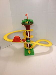 tree tots sky coster amusement park by kenner