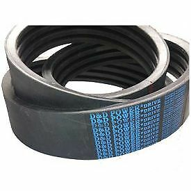 D&D Power Drive 5VK206015 made with Kevlar Banded Belt  58 x 206in OC  15 Band