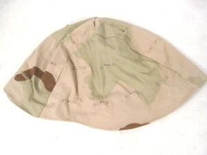 US ArmyUSMC PASGT Kevlar Helmet Cover 3-Color Desert Camo Size Size Ex-Small