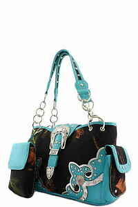 Women's Designer Western Top Handle Bag With Mini Purse BML8469B