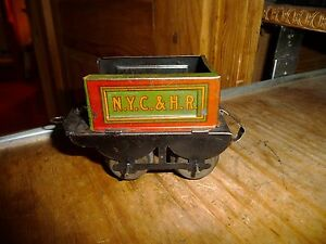 original rare 1920 tin train tender part for ty