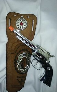 cap gun and leather texas kid holster