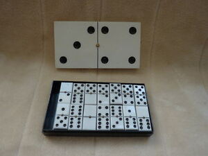 codeg empire made dominoes in box