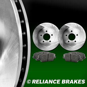 [FRONT KIT]HartBrakes REPLACEMENT BRAKE ROTORS AND SEMI MET PADS RBBF.65084.03