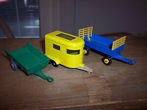 3 lesney matchbox trailers 1 husky trailer 1