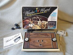 wonder wizard 1976 pong console system