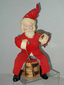 santa belsnickle german candy container 1910
