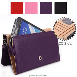 Simple Protective Wallet Case Clutch Cover for Smart Phones ESXLWL 8