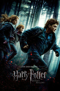 HARRY POTTER AND THE DEATHLY HALLOWS PART 1 MOVIE POSTER REGULAR STYLE