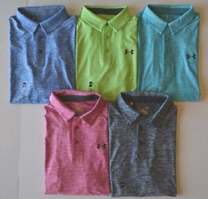 Men's Under Armour Loose Fit Heat Gear Golf Polo Shirt