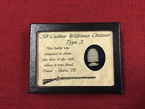 Williams Cleaner type 3 in dropped condition from Shiloh in case with COA