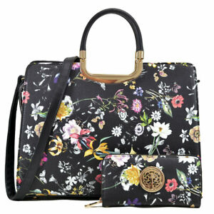New Women Handbag Faux LeatherBusiness Purse Laptop Case Briefcase Tote Bag