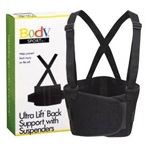 Ultra Lift Back Supports wSuspenders X-Large (40