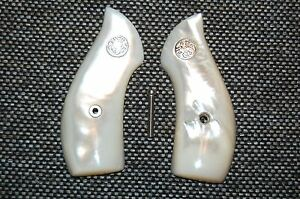 MOTHER OF PEARL SMITH & WESSON J FRAME GRIPS