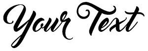 YOUR TEXT Vinyl Decal Sticker Car Window Bumper CUSTOM Personalized Lettering $2.39