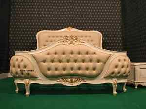 BESPOKE King or Queen Designer luxury Chatelet® Bed Handmade fr mahogany wood
