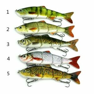 New Minnow Fishing Lures Crank Bait Hooks Bass Crankbaits Tackle Sinking Popper