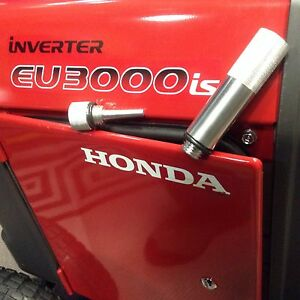 HONDA EU3000IS INVERTER GENERATOR OIL FILL TUBE amp; MAGNETIC DIPSTICK COMBO *USA*