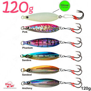 4pcs Fish WOW! 80g 100g 120g 160g 200g 250g Flat Lure Fall butterfly 4-color lot