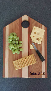 Cutting Boards / Serving Trays with Bible Verse -- Handcrafted Christian Gifts