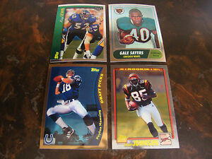 2010 Topps Chrome Football Anniversary Reprints Lot Of 4 Multi Lots See List $9.00