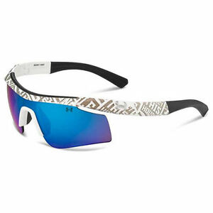 Under Armour Youth Dynamo WhiteGray Frame Sunglasses