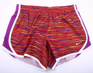 Youth Girls' Nike Tempo Allover Print Running Short SIZE LARGE