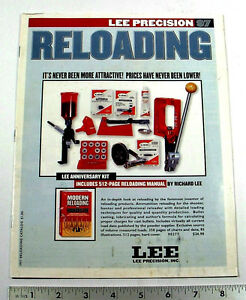 1997 LEE CATALOG OF RELOADING COMPONENTS & SUPPLIES