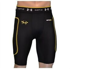 Under Armour Mens No Tolerance MPZ Compression Soccer Shorts Style 1217255 Large