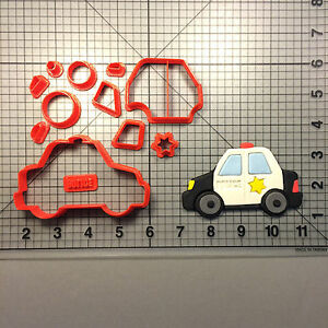 Police Car 101 Cookie Cutter Set