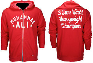Under Armour Roots of Fight Muhammad Ali 3X Champ Hoodie Save 25%  2XL XXL