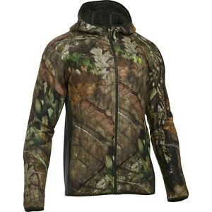 Under Armour Men Sweats Hoodies Super Fleece Hoodie Mossy Oak Open Count