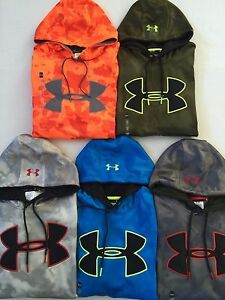 Men's Under Armour Loose Fit Storm Camouflage Camo Hoodie
