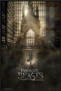 FANTASTIC BEASTS AND WHERE TO FIND THEM - FRAMED MOVIE POSTER (REGULAR STYLE A)