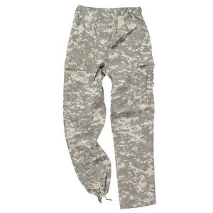 Military BDU Pants Army Cargo Fatigue SWATS Camouflage Camo SIZES S TO 4X