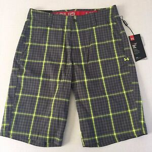 Men's Under Armour Loose Fit Golf Shorts Heat Gear