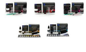 NYOS Complete Reefer Test Kit Package (NO3 PO4 CA MG KHALK) - Saltwater