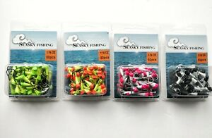 50 NEW Painted Shad Dart Jigheads 1 16 oz Fishing Hooks Lures Bait Tackles #2