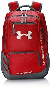 Under Armour Storm Hustle II Backpacks - Red