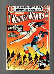 WONDER WOMAN # 201    ( 1972 )    CATWOMAN   I-CHING!!  DC COMICS   SHARP COPY!