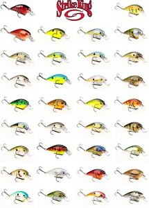 Strike King KVD 1.5 Square Bill Silent Crankbait Lure Select Color s