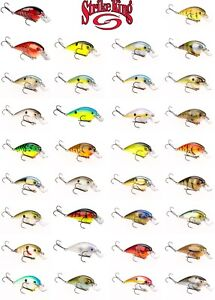 Strike King KVD 1.5 Square Bill Silent Crankbait Lure - Select Color(s)
