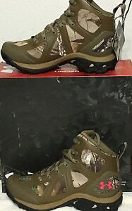 UNDER ARMOUR UA WOMEN'S SPEED FREEK CHAOS CAMO WATERPROOF BOOT 1241637-946