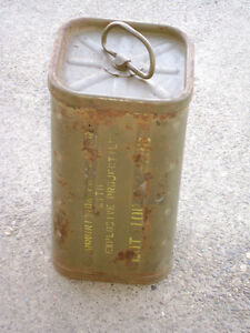 WWII U.S. Mortar Can HE M43A1-Dated 1244 (Battle of the Bulge)