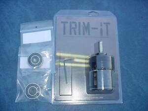 Trim-It Case Trimmer w two Caliber Inserts. New in the box