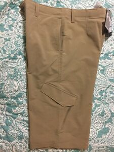 Under Armour Match Play Cargo Boys Golf Shorts Size YMDJMM Color: Canvas 254