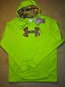 Mens XL TALL Under Armour STORM1 Neon Yellow & Camo 1253663-324 $70