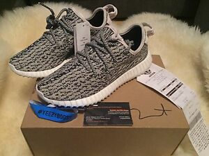 Adidas Yeezy 350 Boost Turtle Dove Signed Kanye West 4.5 5 37.5 100% Authentic
